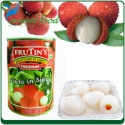 foods canned lychee fruit in syrup - product's photo