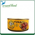canned tuna in oil brine - product's photo