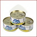 canned jack mackerel in oil - product's photo