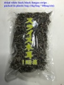 chinese dried black fungus mushroom strips - product's photo