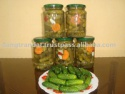 pickled cucumber 6-9cm in glass jar 720ml - product's photo