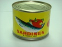 canned sardines - product's photo