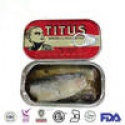 good taste manufacturer 125g*50tins canned sardines morocco in oil  - product's photo