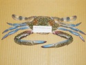 frozen blue swimming crab - product's photo