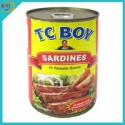 canned sardine pilchards - product's photo