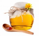 honey in bottle packaging - product's photo