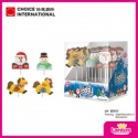 lantos brand 30g various shape lollipop confectionery supplies - product's photo