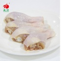 processed halal frozen chicken quarter legs/grad a chicken - product's photo