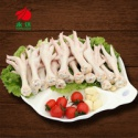 chicken feet with clean yellow hair,without feather - product's photo