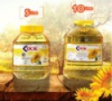 10 liters jar %100 sunflower seed oil - product's photo