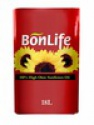 bonlife refined sunflower oil, 18l - product's photo