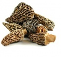 dried organic black morel mushroom - product's photo