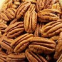raw blanched pecans nuts - product's photo