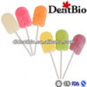 hot lollipop manufacturers, 100% xylitol lollipop candy, fruit flavou - product's photo