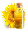 crude sunflower oil - product's photo