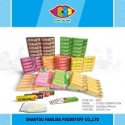europe 5 stick chewing gum fruit flavor - product's photo