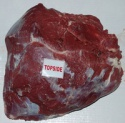 frozen hindquarter topside meat - product's photo