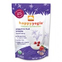 happy baby organic yogis freeze dried yogurt & fruit snacks (mixed berry) - product's photo
