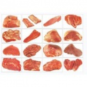 frozen halal buffalo meat - product's photo