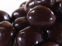dark chocolate covered cranberries - product's photo
