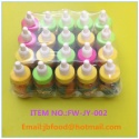 13g fruit flavor jelly bean soft candy in nipple bottle. - product's photo