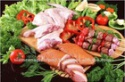 frozen duck meat - product's photo