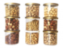 raw hazelnut kernels - product's photo
