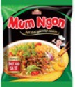 pork flavor with onion sate instant noodles - product's photo
