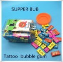 africa hot selling 3-3.5g supper bub tattoo bubble gum  - product's photo