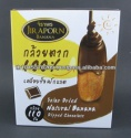 dried natural banana dipped chocolate - product's photo