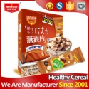 visible nutritious chocolate and nut wholesale oatmeal - product's photo