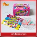 sour jelly gummy stick candy filled with sour powder and fruit jam - product's photo