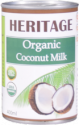 organic coconut milk - product's photo