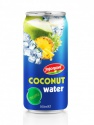 pineapple flavour coconut water in aluminium can - product's photo