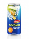 orange flavour with coconut water in aluminium can - product's photo