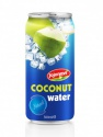 natural coconut water in aluminium can - product's photo