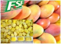frozen mango halve - product's photo