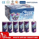 sweet halal grape liquid candy - product's photo