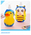 safe food grade foldable water bottle for child - product's photo