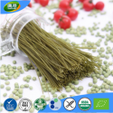 eu food safety standard organic low calorie green bean spaghetti - product's photo