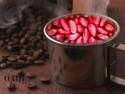 british type dark red light speckled kidney beans - product's photo