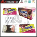 milk & chocolate & vanilla flavors 3 in 1 chocolate cup - product's photo