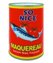 delicious canned mackerel fish in natural oil  - product's photo