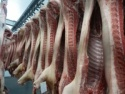 frozen pork carcass skin on - product's photo
