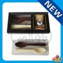 mico double spoon shaped chocolate - product's photo