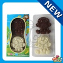 mico double monkey shaped chocolate - product's photo