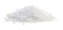 edible white crystal salt granules - product's photo