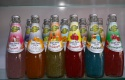 basil seed drink with fruit flavor - product's photo