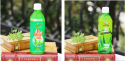 aloe vera beverage with pulp( different flavours) - product's photo