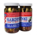 salted sardines in olive oil - product's photo